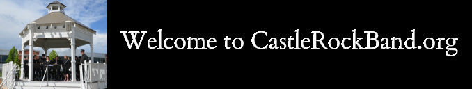 Welcome to CastleRockBand.org